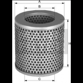 C1112/2 Luftfilter MANN-Filter