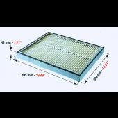 Heidelberger-System Filter RP 495 x 394 x 47 mm